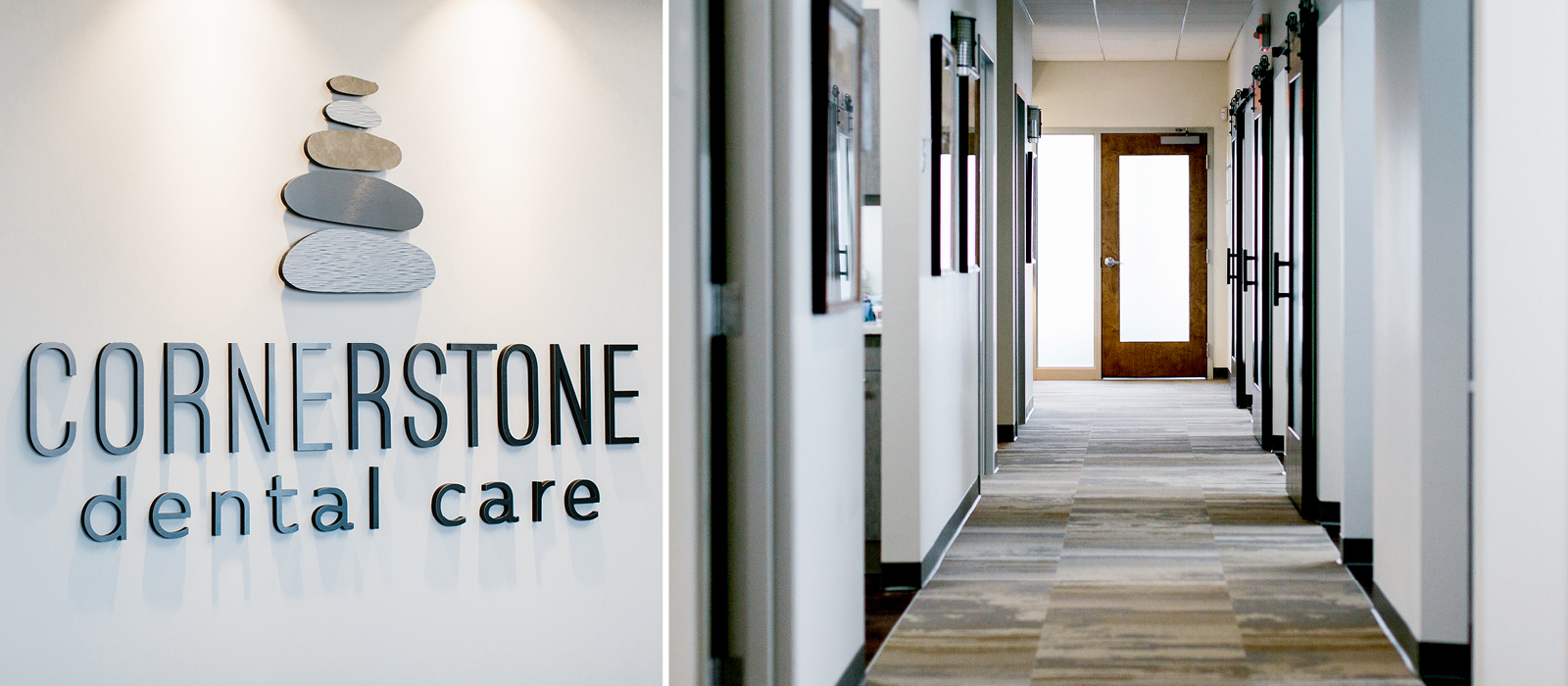 Cornerstone Dental Care hallway