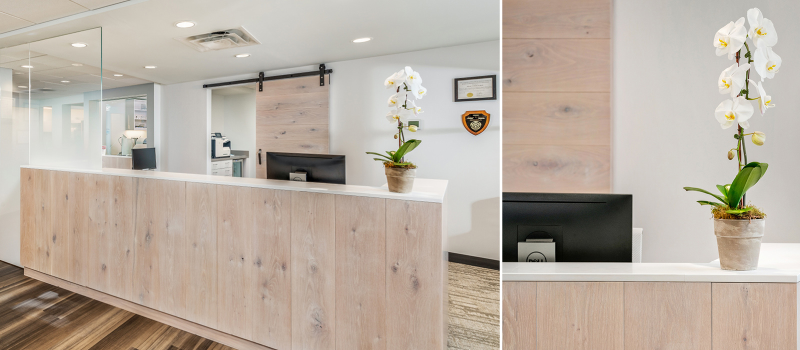 Direct Pay Dental Care reception desk