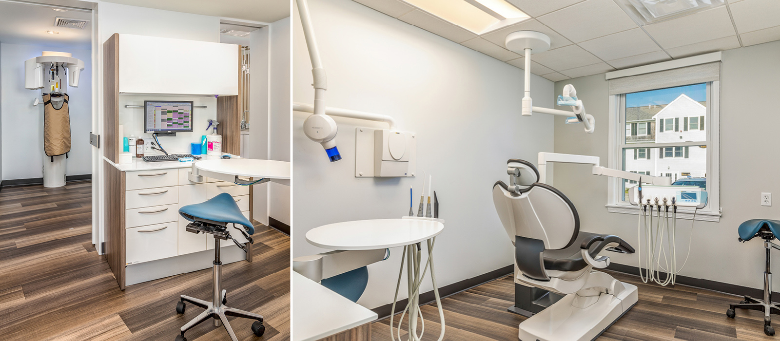 Direct Pay Dental Care x-ray and treatment areas