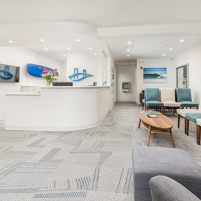 Forster Orthodontics patient waiting area