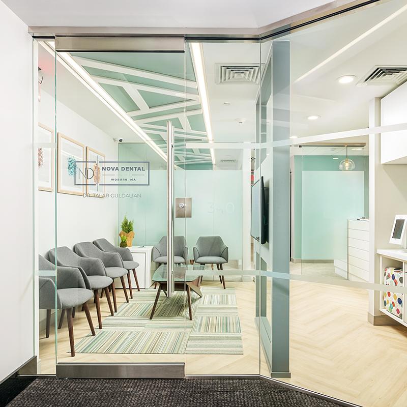 Nova Dental patient waiting area
