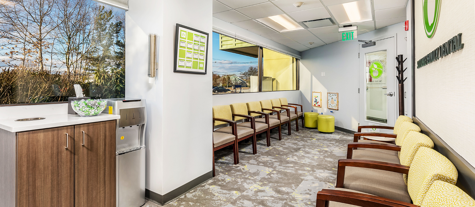 Scituate Family Dental patient waiting area