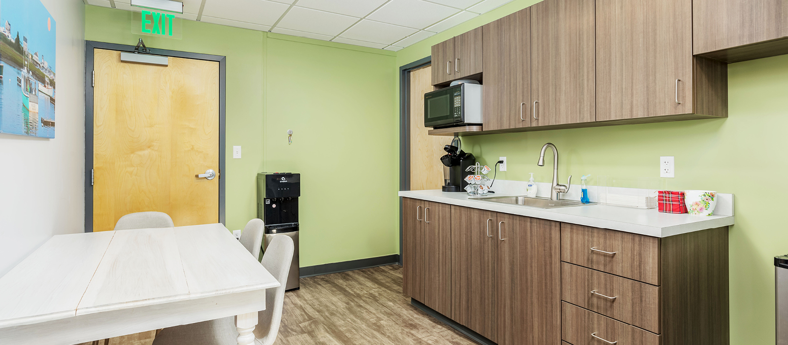 Scituate Family Dental staff lounge
