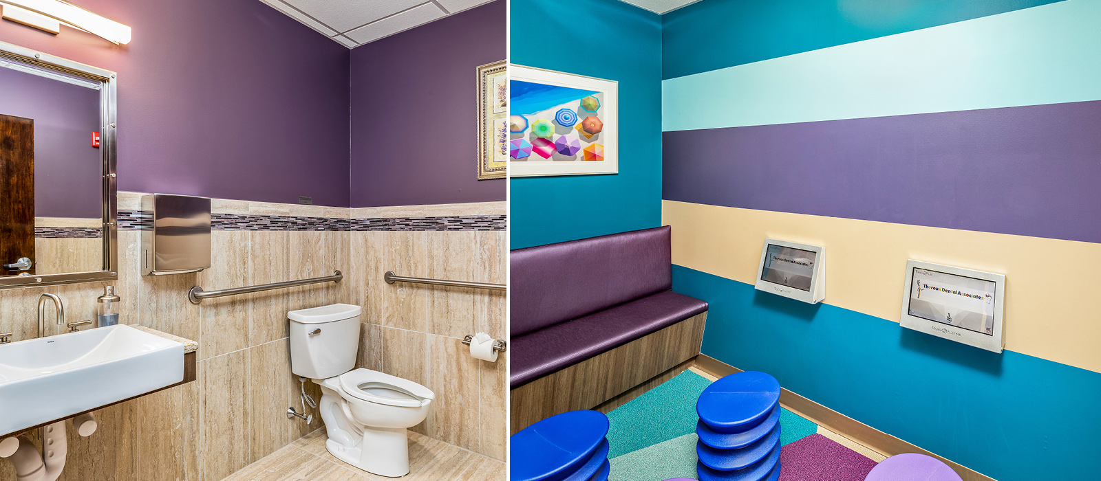 Theroux Dental children's waiting area
