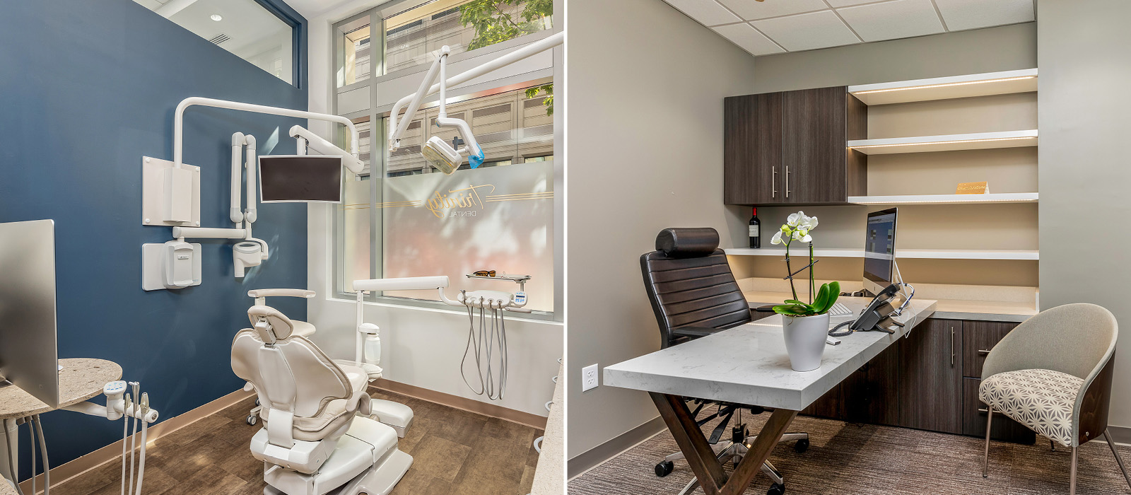 Trinity Dental treatment room and consultation space