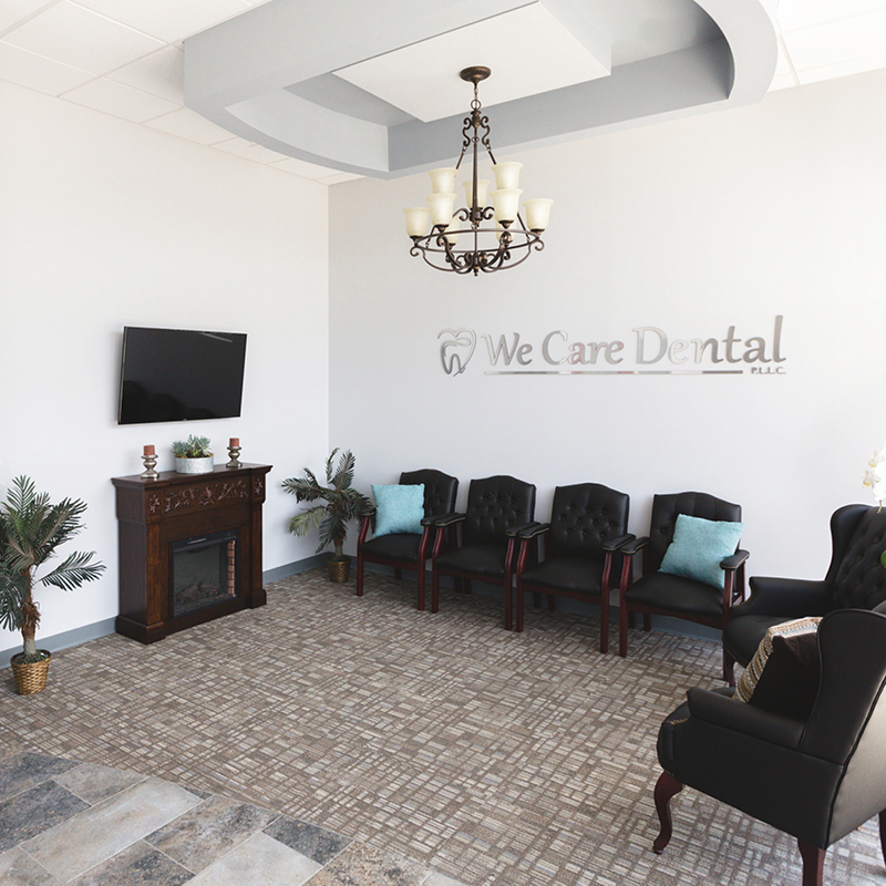 We Care Dental patient waiting area