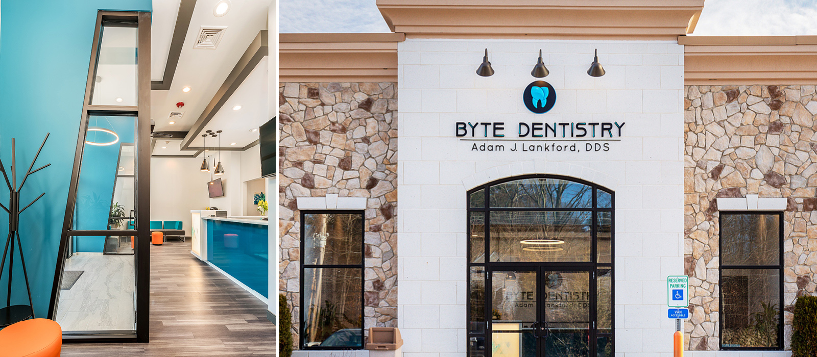Byte Dentistry front entrance