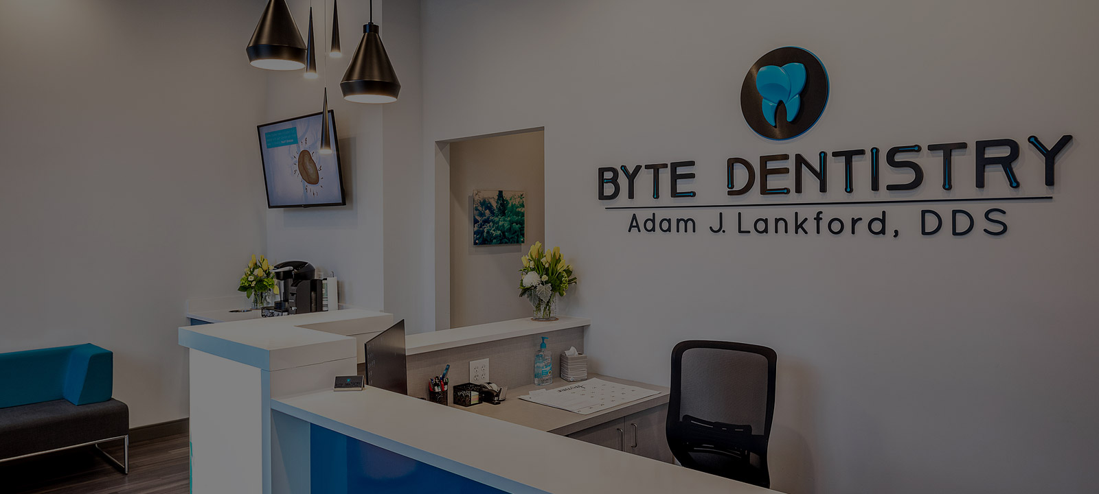 Byte Dentistry reception area