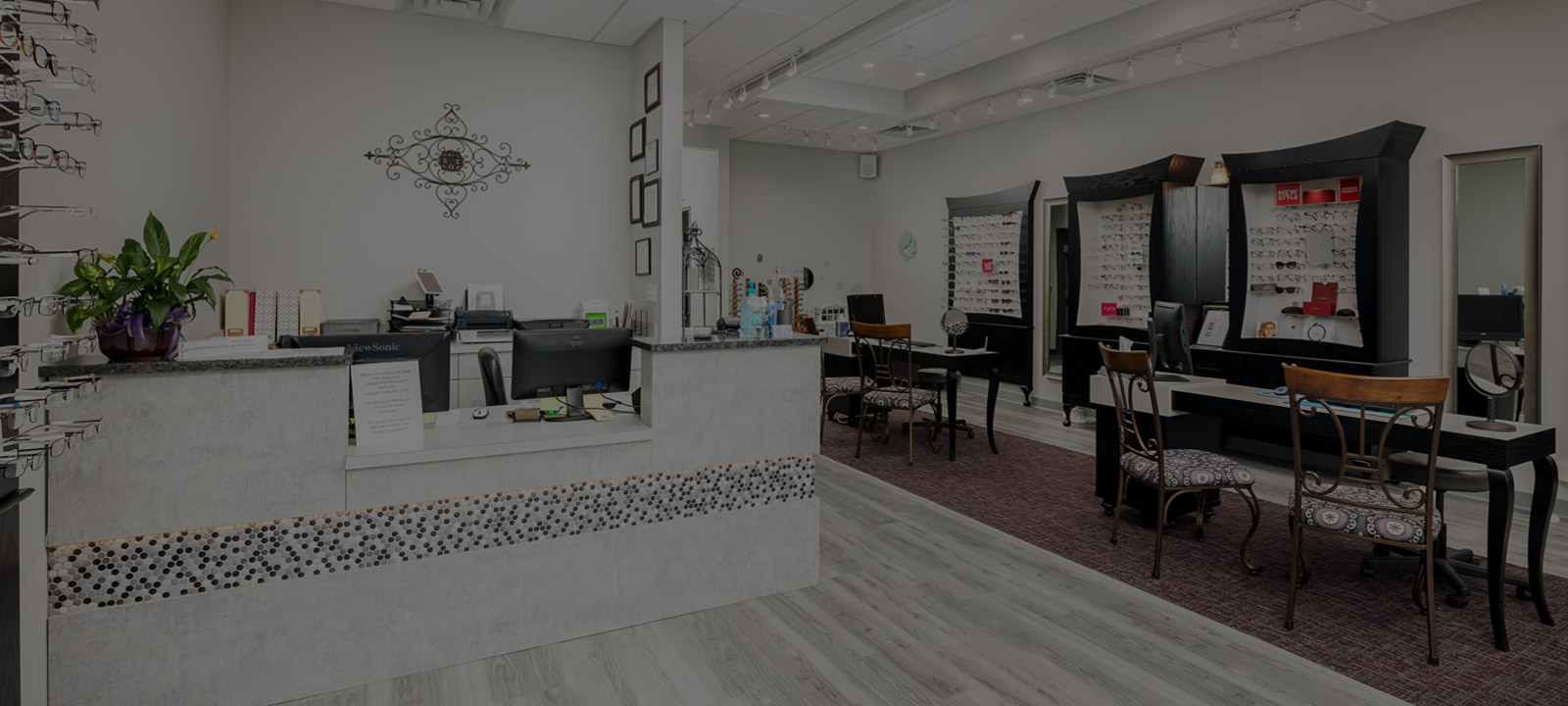 Canterbury Vision Care front desk
