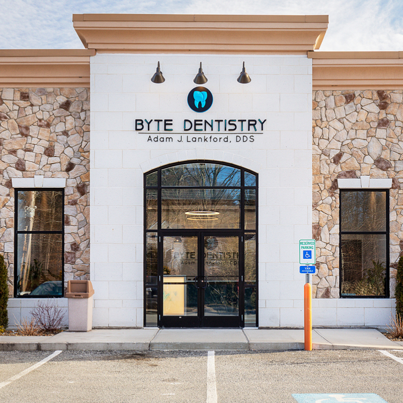 Byte Dentistry out side view of enterance