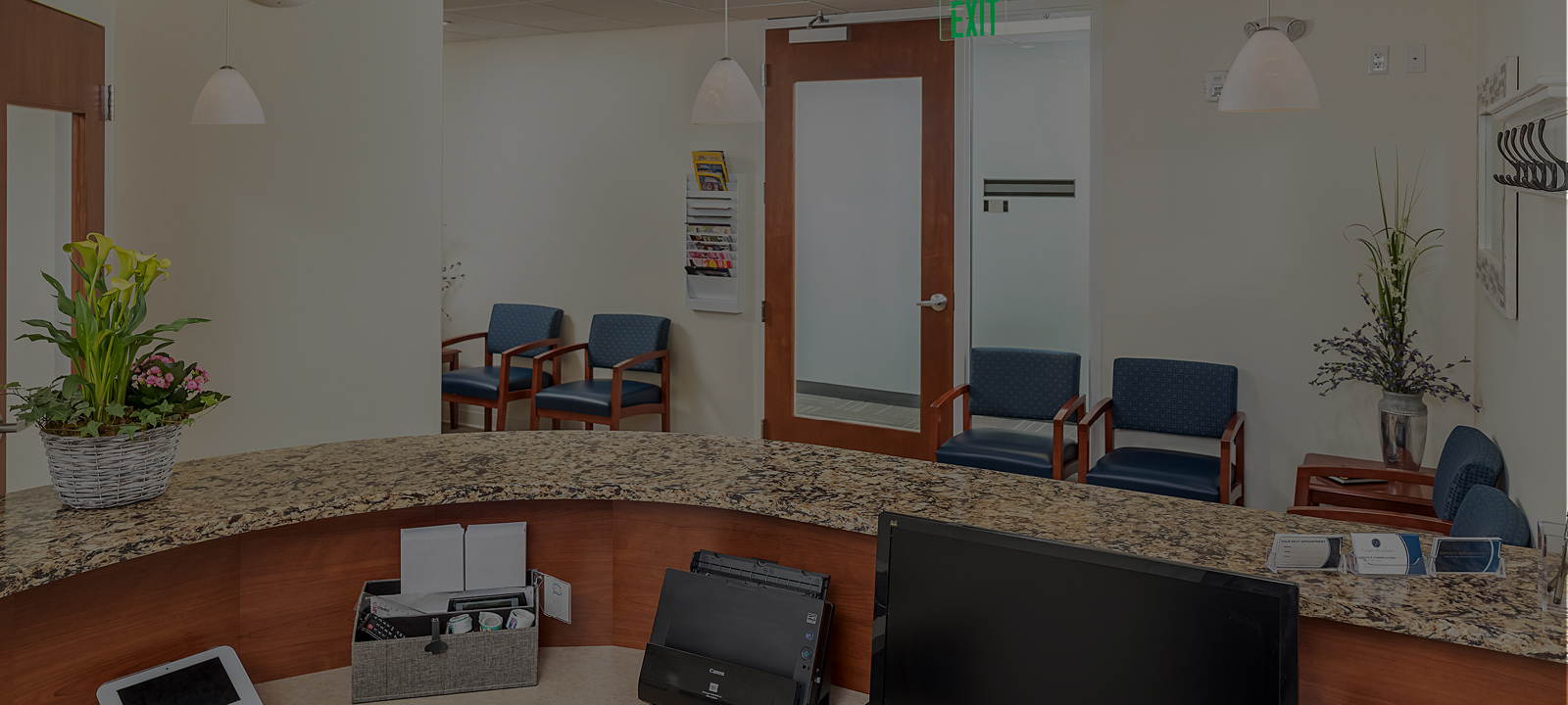 Lexington Prosthodontics front desk
